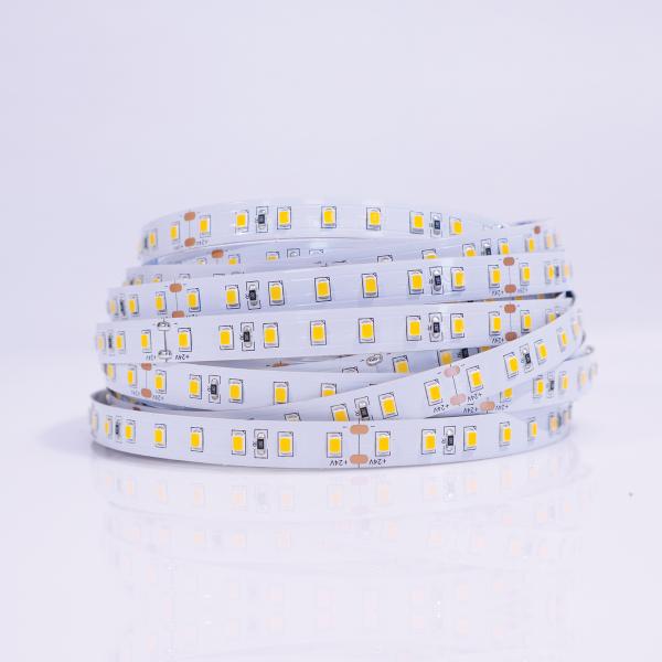 Taśma LED 60xSMD 2835 Żółta 8W 24V IP20 Rolka 5m
